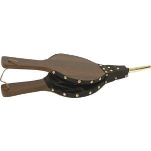 Photo GCH1470 : Soufflet en bois et simili cuir