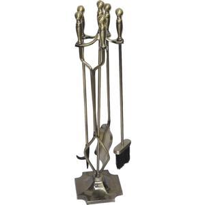 Photo GCH150S : Valet de cheminée 4 accessoires