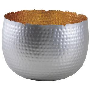 Photo GCO3420 : Corbeille boule en métal intérieur doré
