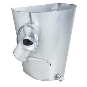Photo GDI1260 : Récupérateur d'eau de pluie en zinc