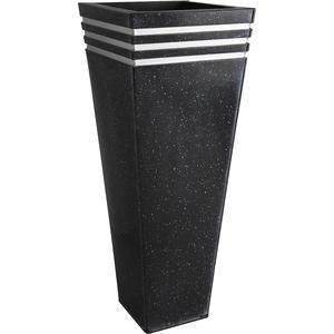 Photo GVA120S : Vases en zinc terrazo