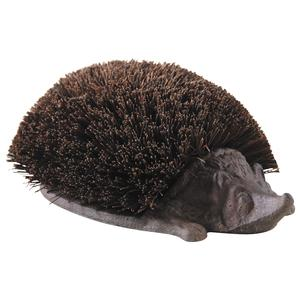 Photo JAC1440 : Cast iron and coco hedgehog brush