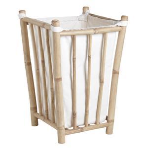 Photo KLI3610C : Bamboo laundry basket
