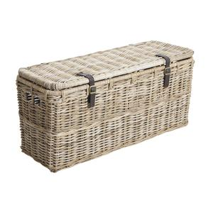Photo KMA202S : Grey pulut rattan end of bed storage chests