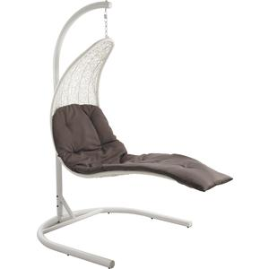 Photo MBA1140C : Synthetic resin swing chair with steel leg