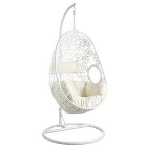 Photo MBA1200C : Adjustable white swing chair