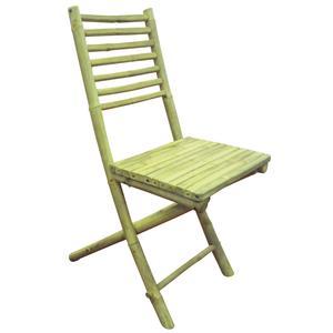 Photo MCT1230 : Chaise de terrasse pliante en bambou