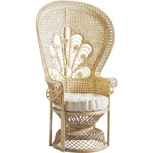 Photo MFA1410C : Rattan peacock chair