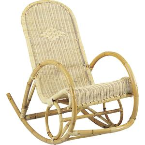 Photo MRO1030 : Rocking-chair en rotin
