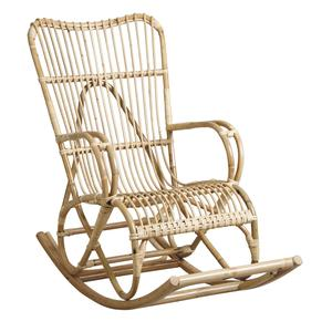 Photo MRO1190 : Rocking-chair en manau naturel