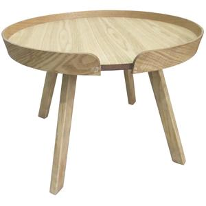 Photo MTB1550 : Table basse ronde en bois