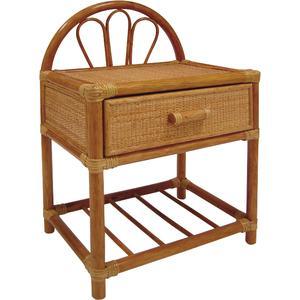 table de nuit en rotin mtn1050 aubry gaspard. Black Bedroom Furniture Sets. Home Design Ideas