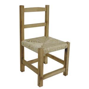 Photo NCE1260 : Chaise enfant en bois