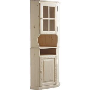 Meuble d 39 angle haut en bois brut ncm2750v aubry gaspard for Produit interieur brut meubles