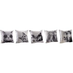 Photo NCO2400 : Coussin chat en coton