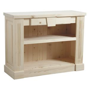 Photo NET2040 : Console en bois brut