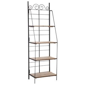 Photo NET2210 : Metal and wood folding shelf
