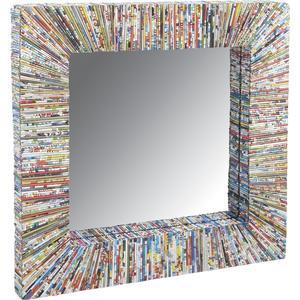 Photo NMI1380V : Miroir en papier recyclé