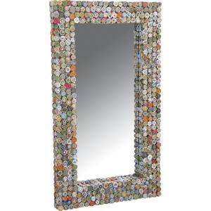 Photo NMI1390V : Miroir rectangulaire en papier recyclé