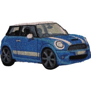Photo NPA1690 : Paillasson mini bleue