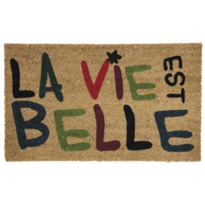 Photo NPA1820 : Paillasson La Vie est belle