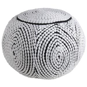 Photo NPO1360 : Pouf boule en polyester