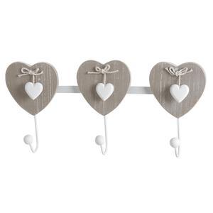 Photo NPT1270 : 3 hook hanger with heart design