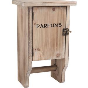 Photo NRA1440 : Armoire en bois + dérouleur WC