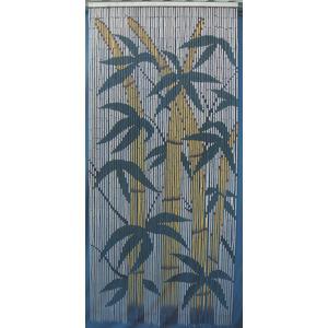 Photo NRI1540 : Rideau de porte en bambou