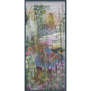 Photo NRI1810 : Bamboo door curtain