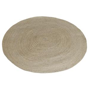 Photo NTA1802 : Round natural jute floor mat