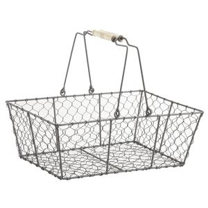 Photo PAM2360 : Wire basket with movable handles