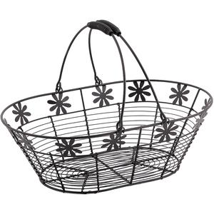 Photo PAM2550 : Metal basket with movable handles