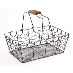 Photo PAM2590 : Metal basket with movable handles