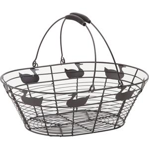 Photo PAM2720 : Metal basket with movable handles