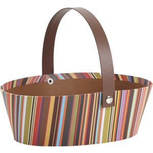 Photo PAM3020 : Cardboard basket with movable handle
