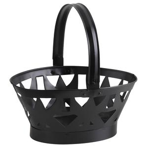 Photo PAM3300 : Black metal basket with handle
