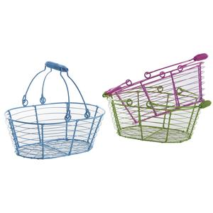Photo PAM4570 : Small lacquered metal baskets