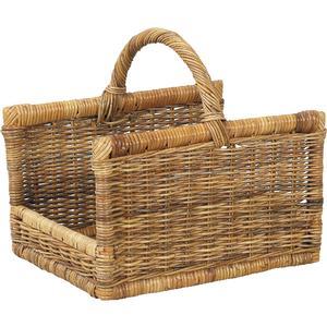 Photo PBU1050 : Pulut rattan log basket with handle