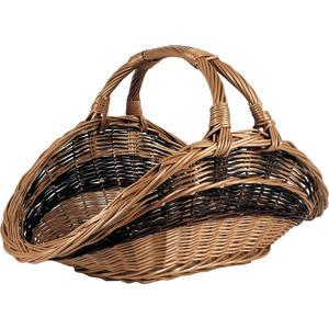 Photo PBU1720 : Buff willow log basket with handle