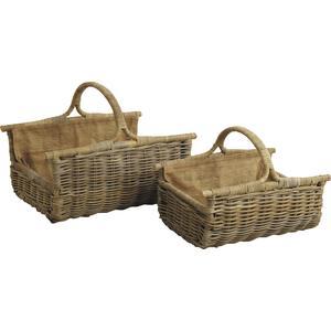Photo PBU186SJ : Pulut rattan log baskets