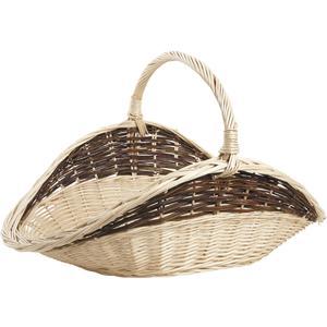 Photo PBU2130 : Willow log basket with handle