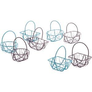 Photo PCF1970 : Mini metal basket with handle