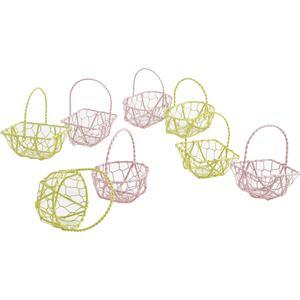 Photo PCF1980 : Mini metal basket with handle