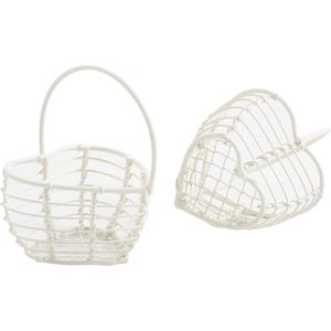 Photo PCF2020 : Mini heart-shaped basket with handle