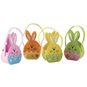 Photo PCF2110 : Mini felt bag with rabbit design.