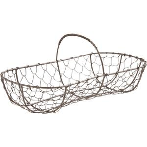 Photo PEN1520 : Wire basket with handle