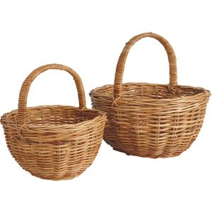 Photo PMA436S : Pulut rattan baskets with handle