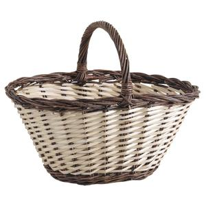 Photo PMA5050 : Split willow and half willow basket with handle