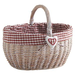 Photo PMA5060C : Stained half willow basket